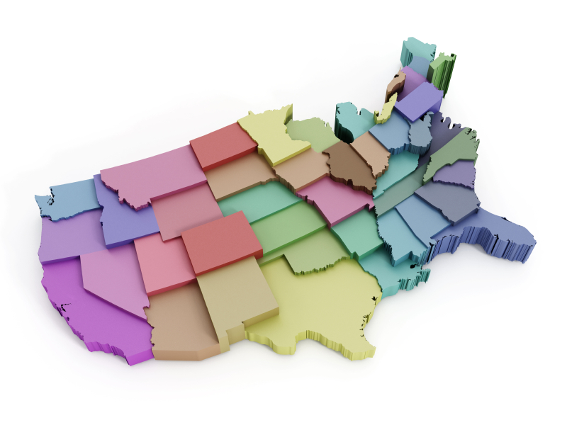 Re-Drawing the U.S. Map Based on Housing | RISMedia\\'s Housecall