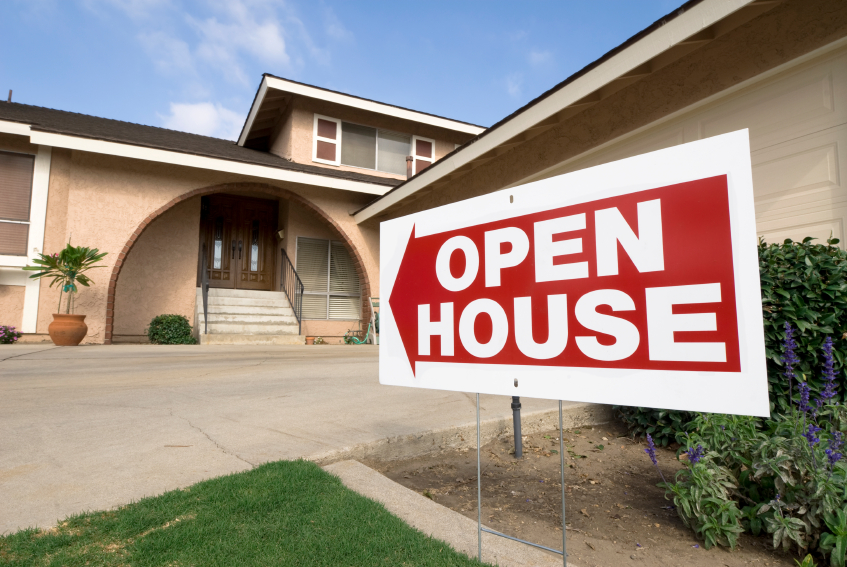 how to have an open house for sale by owner