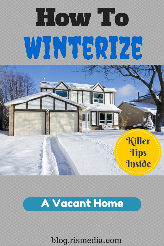 how to winterize