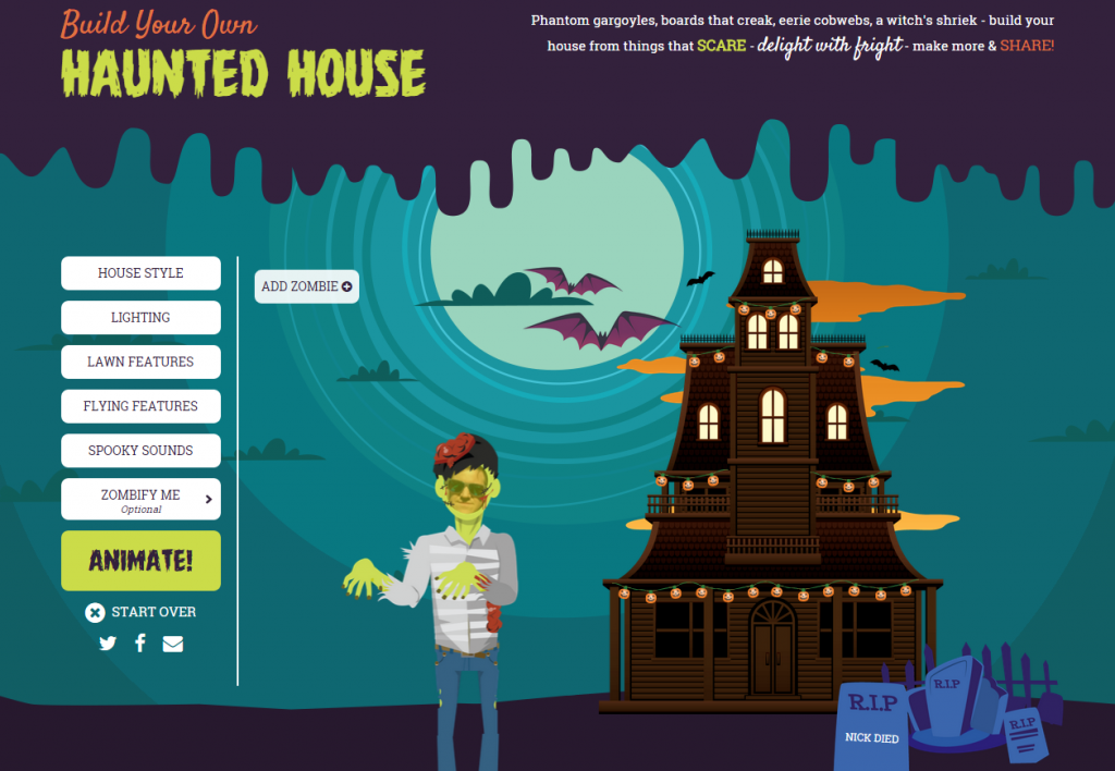 Build Your Own Haunted House With Rismedia