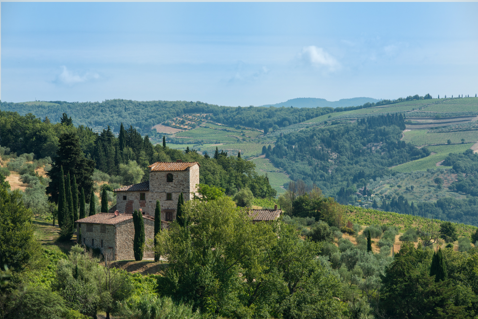 History for sale michelangelo 39 s 16th century tuscan home for Tuscany villas