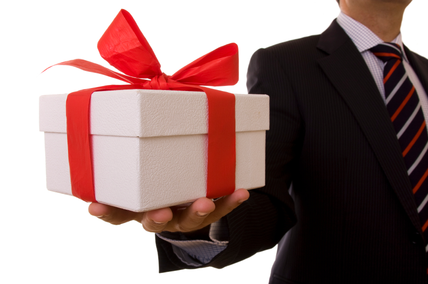 The importance of gift giving in real estate rismedias housecall gift giving negle Images