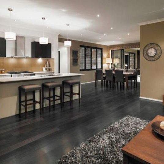 gray floor