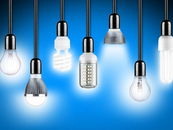 Энергосберегающие лампы освещения светодиодные