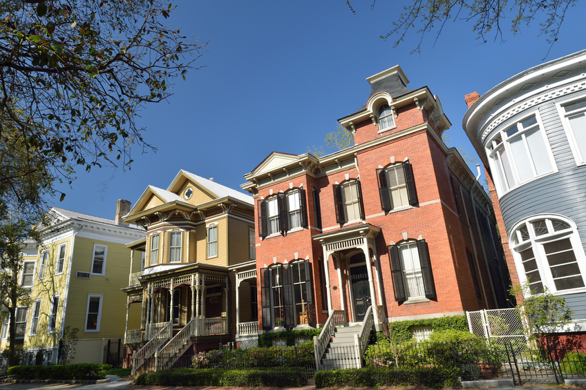Houses in Savannah
