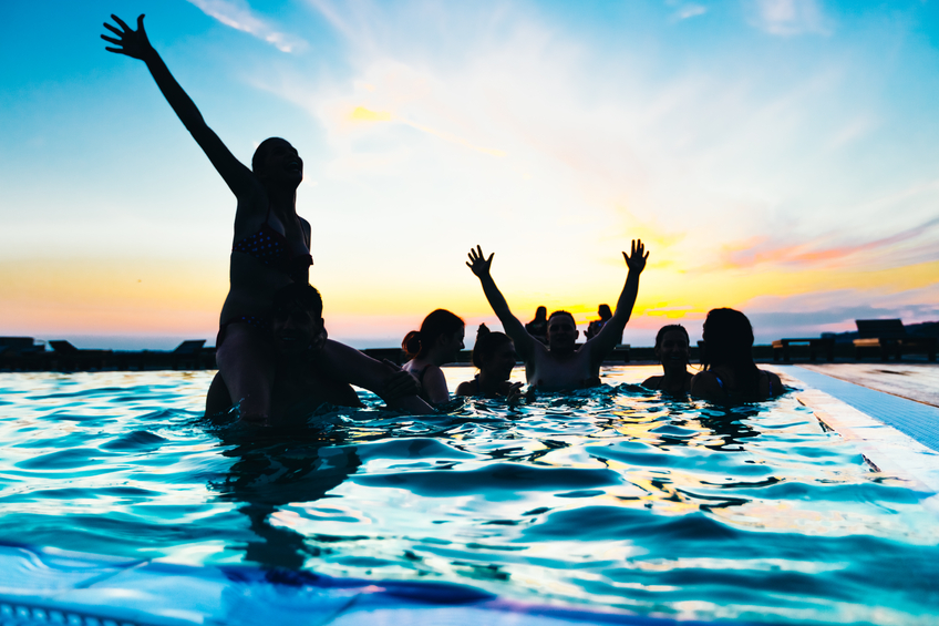 pools are fun