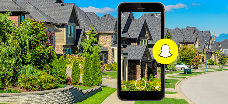 snapchat real estate