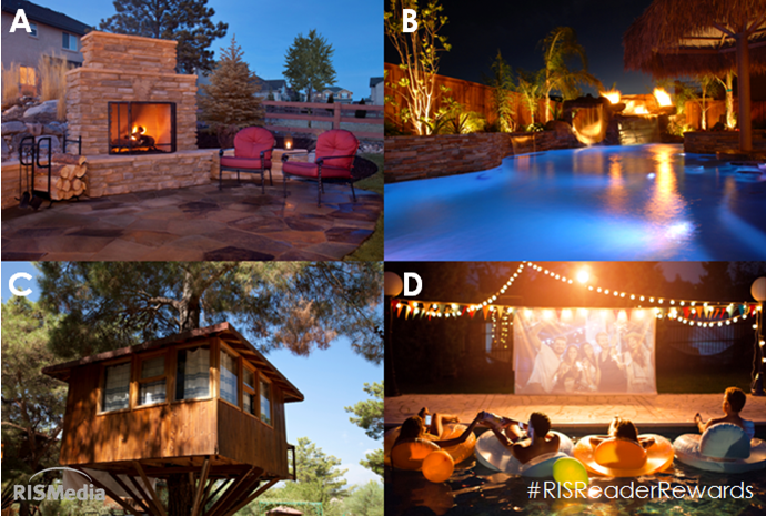"""Labor Day Dreamin"" - Which Dream Feature Would You Want in Your Backyard This Holiday Weekend?"