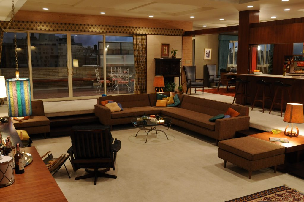 Mad Men apartment