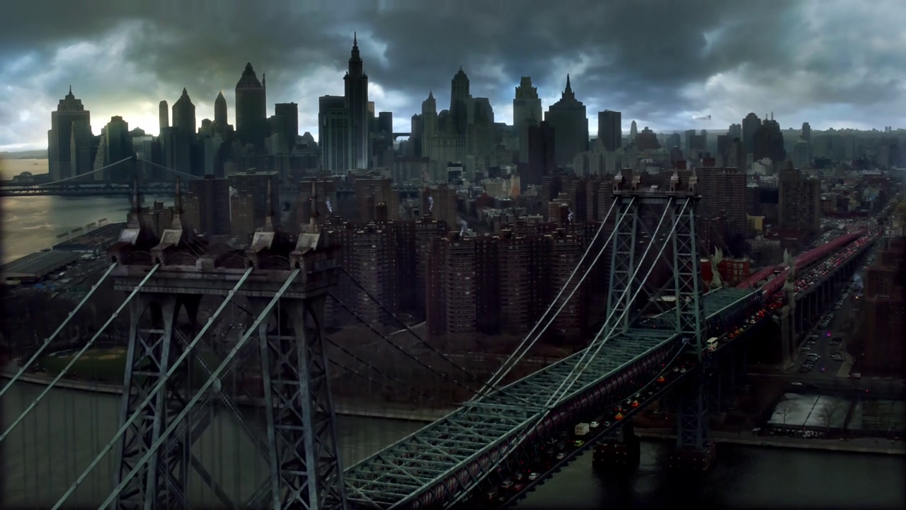 gotham fictional towns real estate