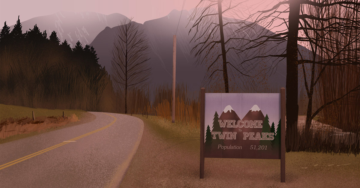 Twin Peaks fictional towns real estate