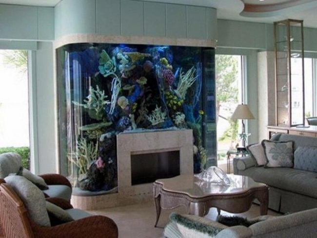 Aquatic living room