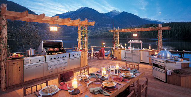 5 Crazy Beautiful Outdoor Kitchens Rismedia S Housecall