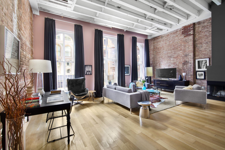 Sunny Split Level Tribeca Condo For Sale Rismedia S