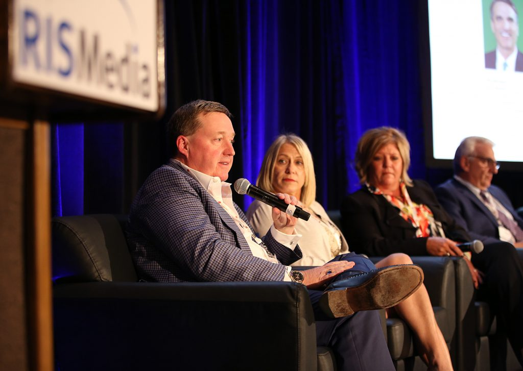 From L to R: First Team Real Estate President Michael Mahon; Ascent Real Estate President/CEO Penny Nathan; Coldwell Banker Schmidt Family of Companies President, Ohio Operations Felicia Hengle; Engel & Völkers New York City CEO Stuart Siegel