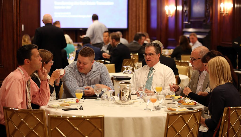 The CEO Exchange Networking Breakfast, sponsored by DocuSign