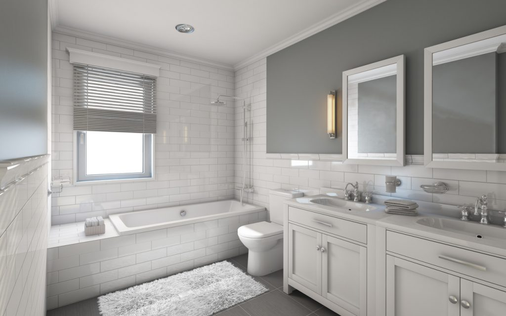 Master Bathroom feature