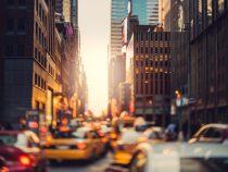 Crowded Manhattan