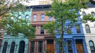 NYC Brownstone Multi Colored Walk Up