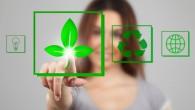 Green Living Woman