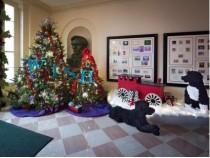 White House Dog Ornaments