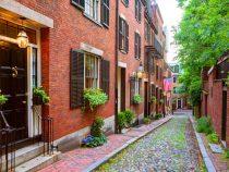 Acorn street Beacon Hill cobblestone Boston
